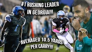 Download Georgia's #1 Rushing Leader Is UNSTOPPABLE!!!- Zion Custis Highlights Reaction Video