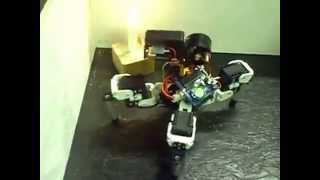 Download Fire Fighting Quadruped Robot - Issy Video