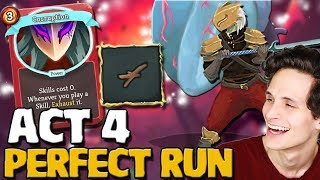 Download Slay The Spire - Act 4 Ascension 20 Ironclad | Perfect Deadbranch Deck Video