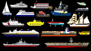 Download Water Vehicles (Updated) - Boats & Ships - The Kids' Picture Show (Fun & Educational Learning Video) Video