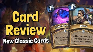 Download Review of 4 New Classic Cards - Hearthstone Video