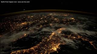 Download 4K Time Lapse Video: Earth By Night - Earth from space (Music Elgar ″Nimrod″) Video