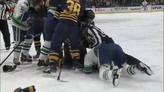 Download Gotta See It: Burrows gets rough with Lehner, then gets tackled by Falk Video