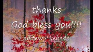 Download ABITEW KEBEDE/oromo gospel song Video