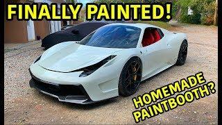Download Rebuilding A Wrecked Ferrari 458 Spider Part 12 Video