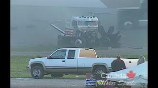 Download Huge Big Rig Race Crash! June 2002 Calgary Video