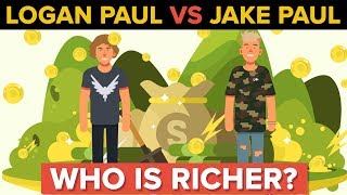 Download Logan Paul vs Jake Paul - Who Is Richer and More Popular? Video