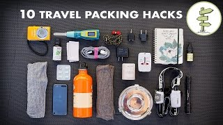 Download 10 Essential Travel Packing Tips & Hacks - Minimalist Traveling Video
