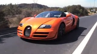 Download Bugatti Veyron 16.4 Grand Sport Vitesse - Jay Leno's Garage Video