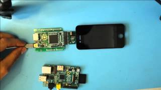 Download Raspberry Pi driving an Iphone 4 LCD Video