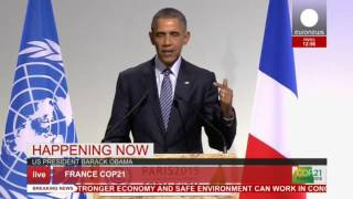Download COP 21: Obama's full speech at Paris conference - live Video
