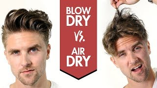Download Blow Dry Vs. Air Dry - Secret to great hairstyles - Unlock your hairstyle potential Video