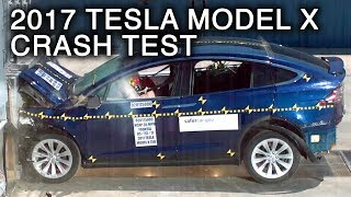 Download 2017 Tesla Model X Frontal Crash Test Video