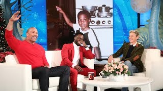 Download Dwayne Johnson Reveals Kevin Hart's Awkward Teen Photo Video