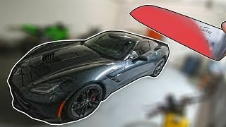 Download EXPERIMENT Glowing 1000 degree KNIFE VS CORVETTE GONE WRONG!!! Video
