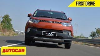Download Mahindra KUV100 | First Drive | Autocar India Video