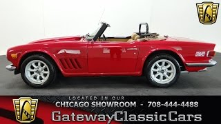 Download 1973 Triumph TR6 Gateway Classic Cars Chicago #1046 Video