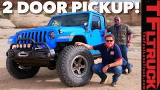 Download Take My Money! Is This The Ultimate 2 Door Jeep Gladiator Pickup Meant To Tease Us All? Video
