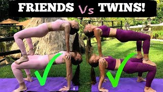 Download EXTREME YOGA CHALLENGE Twins vs Friends in BALI! Video