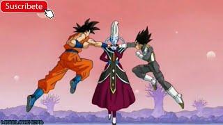 Download Wiss usa el Ultra Instinct/Migatte No Gokui contra Goku y Vegeta | Español latino | 1080p Video