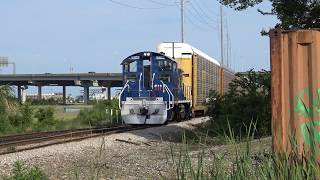 Download Some Serious Train Chasing on the Charleston Terminal Video
