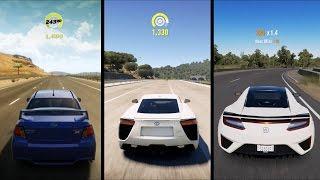 Download Forza Horizon 3 vs Forza Horizon 2 vs Forza Horizon 1 - Highway Free Roam Gameplay Compilation (HD) Video