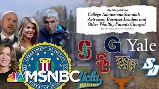 Download DOJ Prosecuting Its Largest College Admissions Cheating Scheme Ever | Velshi & Ruhle | MSNBC Video