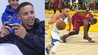 Download Stephen Curry Plays NBA 2K18 & Breaks LeBron James Ankles GAMEPLAY Video