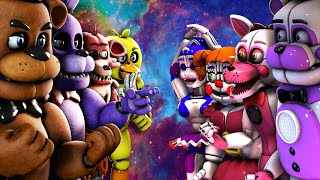 Download Top 10: Best Five Nights at Freddy's FIGHT Animations 2016 (KILL FNAF VS Animations) Video