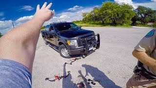 Download BOWFISHING BOW RAN OVER BY SHERIFFS DEPUTY!!! Video