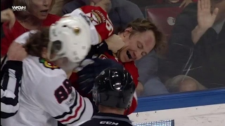 Download Gotta See It: Kane, Jokinen drop the gloves... kind of Video