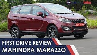 Download Mahindra Marazzo First Drive Review | NDTV carandbike Video