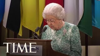 Download Queen Elizabeth Publicly Supports Prince Charles To Succeed Her As Leader Of The Commonwealth | TIME Video