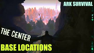 Download 5 of the BEST Base Building Locations - The Center Map - ARK: Survival Evolved Video