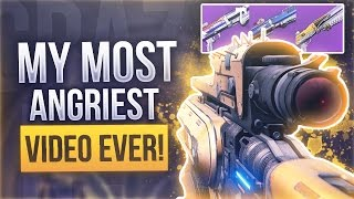 Download Destiny THE ANGRIEST VIDEO I HAVE DONE - Supremacy Shotgun Warriors Everywhere Video