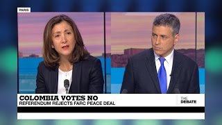 Download Colombia Votes No: Referendum rejects FARC peace deal (part 1) Video