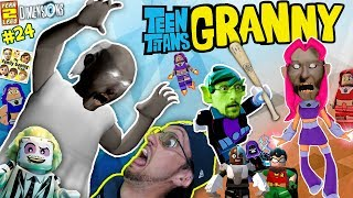 Download GRANNY Plays LEGO w/ FGTEEV! TEEN TITANS GO Stop Wicked Starfire! (LEGO DIMENSIONS Year 2 #24) Video