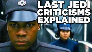 Download Star Wars LAST JEDI Review - Why Are Fans Split? (Finn Subplot Explained!) Video