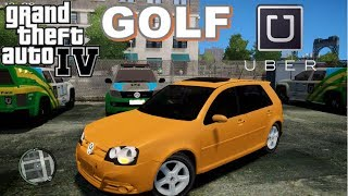Download GTA 4 - Vida Real: UBER #19 | VW Golf Video