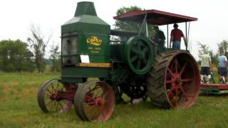 Download Rumely Oil Pull Model E Start-up and Plowing Video