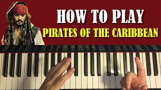 Download HOW TO PLAY - Pirates Of The Caribbean Theme (Piano Tutorial Lesson) Video