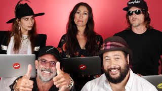Download ″The Walking Dead″ Cast Learns If They'd Survive A Zombie Apocalypse Video