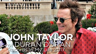 Download John Taylor of Duran Duran on Records In My Life 2017 Video