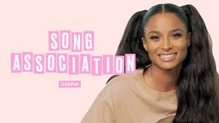 Download Ciara Sings Alicia Keys, Michael Jackson and Whitney Houston in a Game of Song Association | ELLE Video