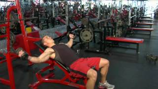 Download How to Do an Incline Dumbbell Fly Video