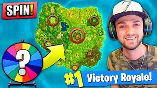 Download WHEEL CHOOSES my DROP in Fortnite: Battle Royale! Video