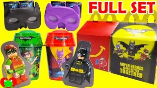 Download 2017 Lego Batman Movie McDonald's Happy Meal Toys Video