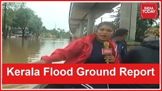 Download #KeralaSOS | Ground Report On Relief Operations From Flooded Aluva Town Video