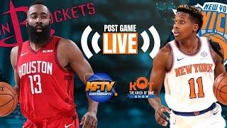 Download Harden Drops 61! 🔥, Knicks Lose In A Thriller!  Knicks vs Rockets LIVE Post Game Fan Reaction Video