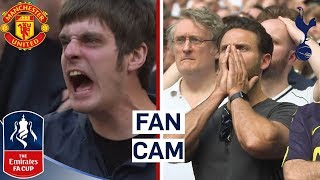 Download Fans React to Man Utd Comeback Against Spurs! | Fan Cam | Man Utd 2-1 Spurs | Emirates FA Cup 17/18 Video